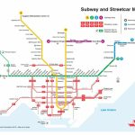 """Ttc Design On Twitter: """"a Printable Version Of Our New Subway And   Toronto Subway Map Printable"""