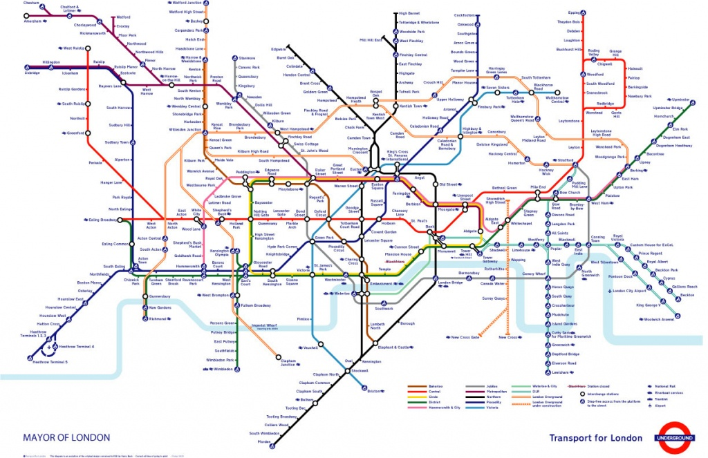 Tube Map | Alex4D Old Blog - Printable London Tube Map 2010