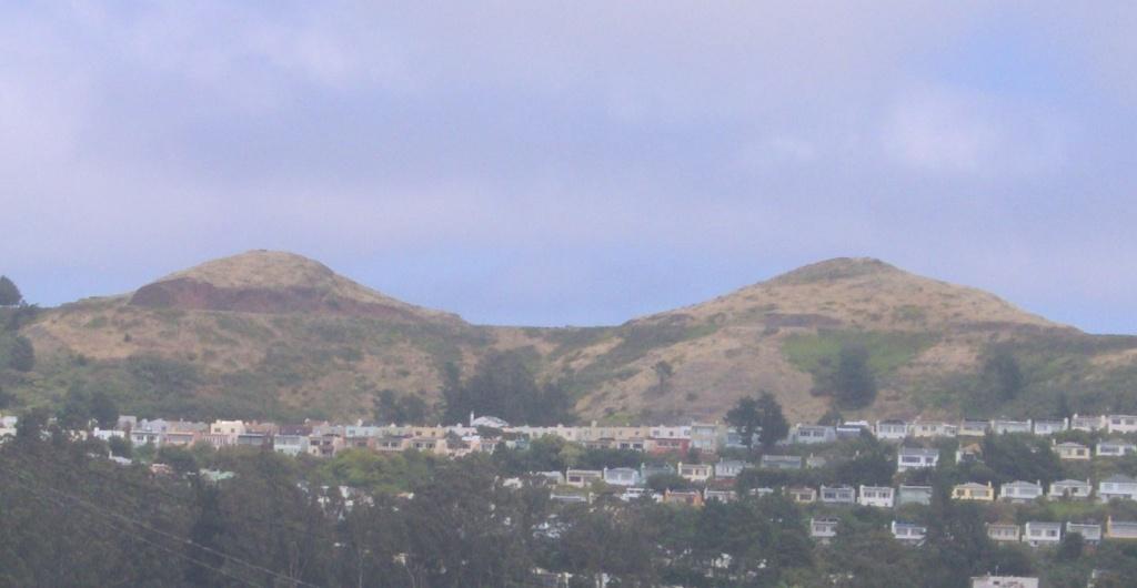 Twin Peaks (San Francisco) - Wikipedia - Twin Peaks California Map