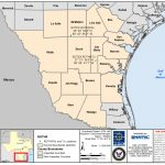 Tx Rothr Wind Farm Compatibility At Nas Kingsville & Nas Corpus Christi   Wind Farms Texas Map