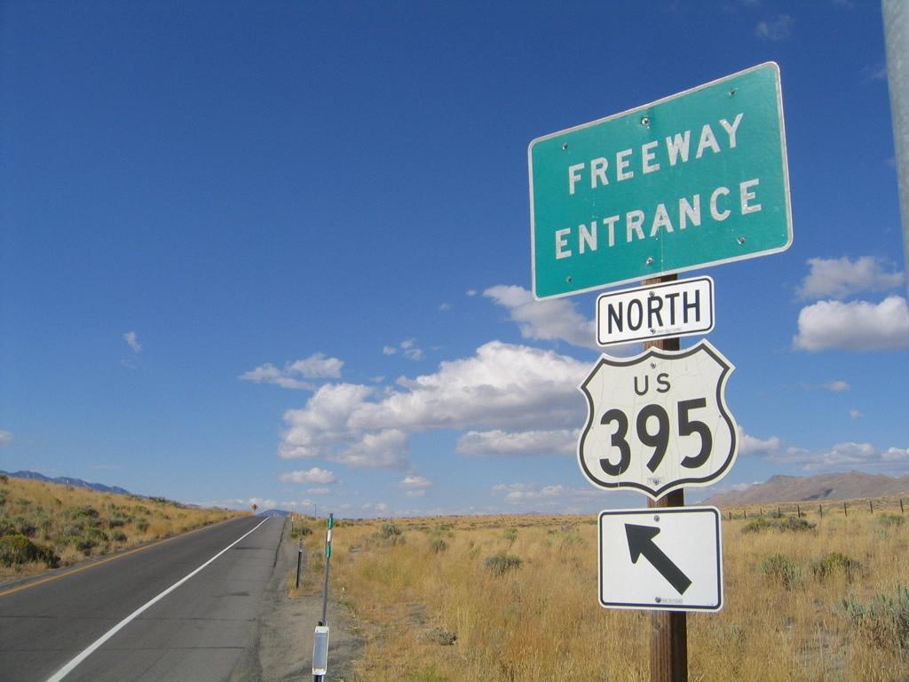 U.s. 395 - Aaroads - California Highways - Route 395 California Map