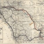 U.s. 395   San Diego Original & Final Routes   Old Maps Of Southern California