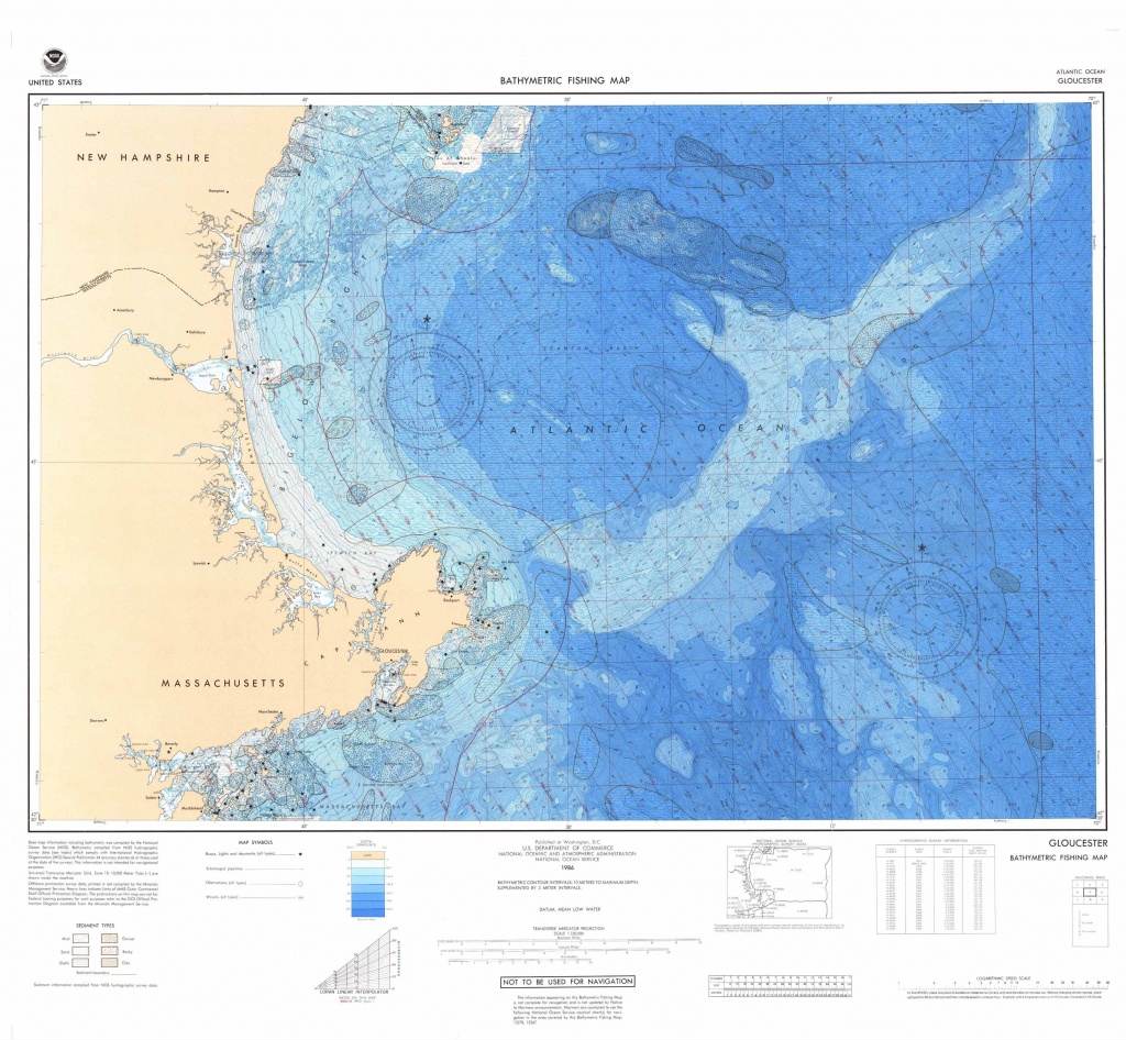 U.s. Bathymetric And Fishing Maps | Ncei - Ocean Depth Map Florida