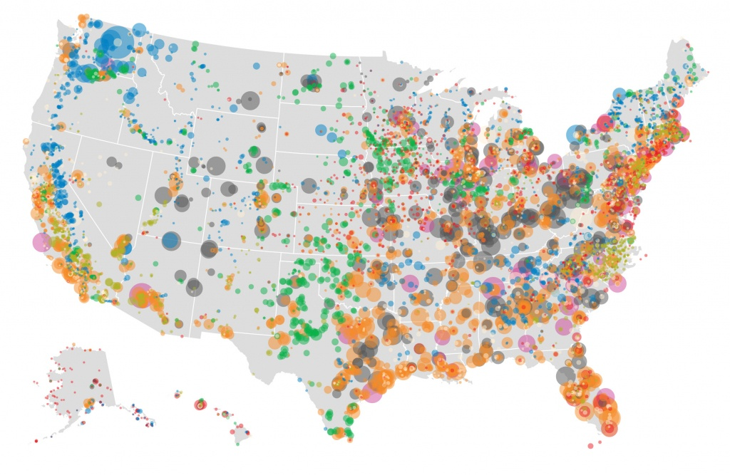 U.s Electricity Generationsource: Natural Gas Vs Coal - Power Plants In Texas Map