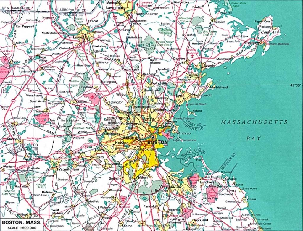 U.s. Metropolitan Area Maps - Perry-Castañeda Map Collection - Ut - Printable Area Maps