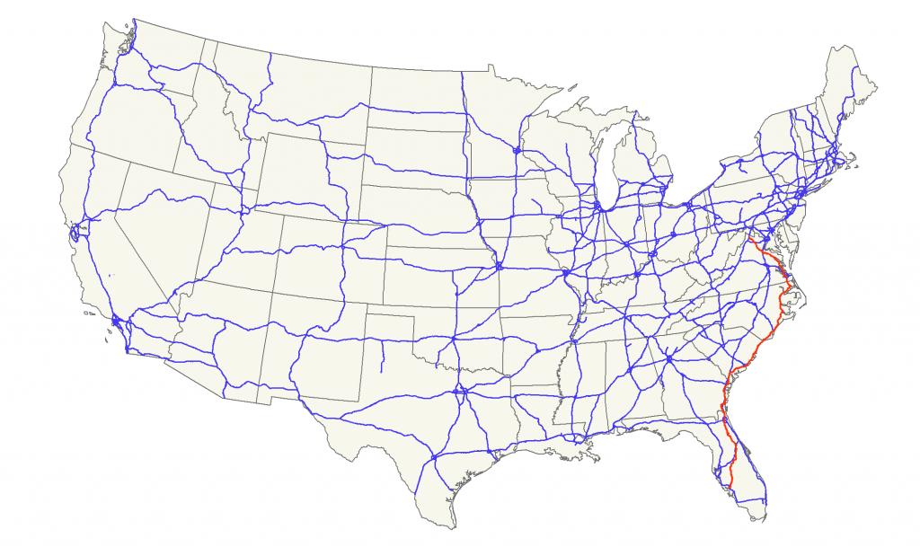 U.s. Route 17 - Wikipedia - Myrtle Beach Florida Map