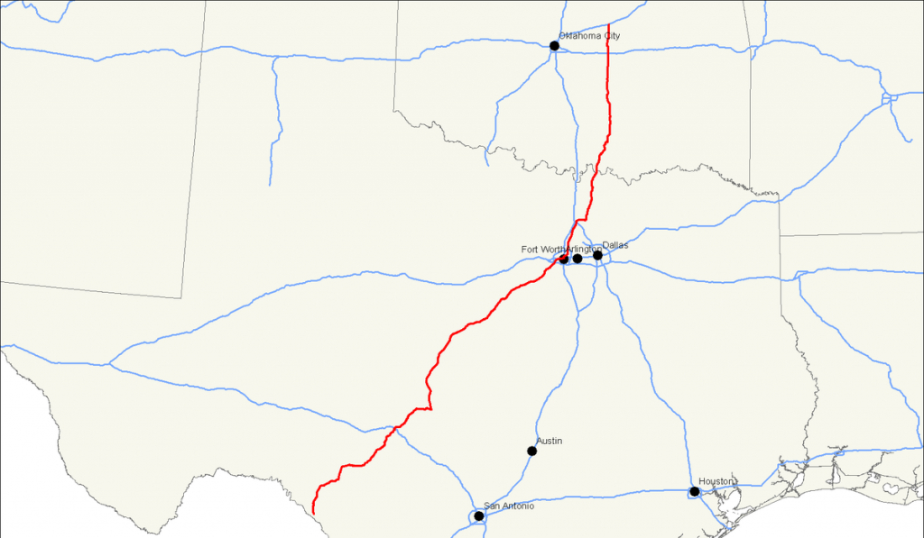 U.s. Route 377 - Wikipedia - Sherman Texas Map