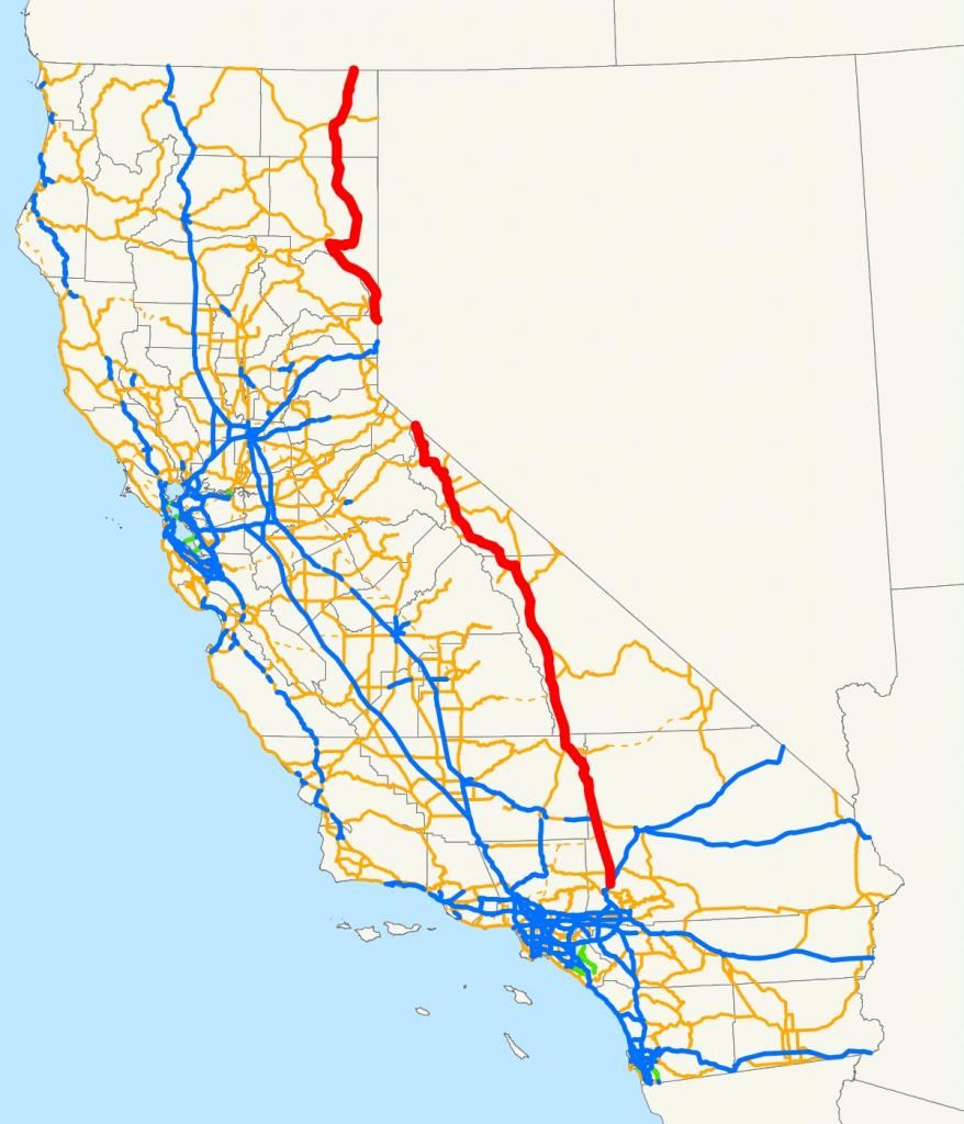 U.s. Route 395 In California – Wikipedia Throughout Indian Wells - Indian Wells California Map