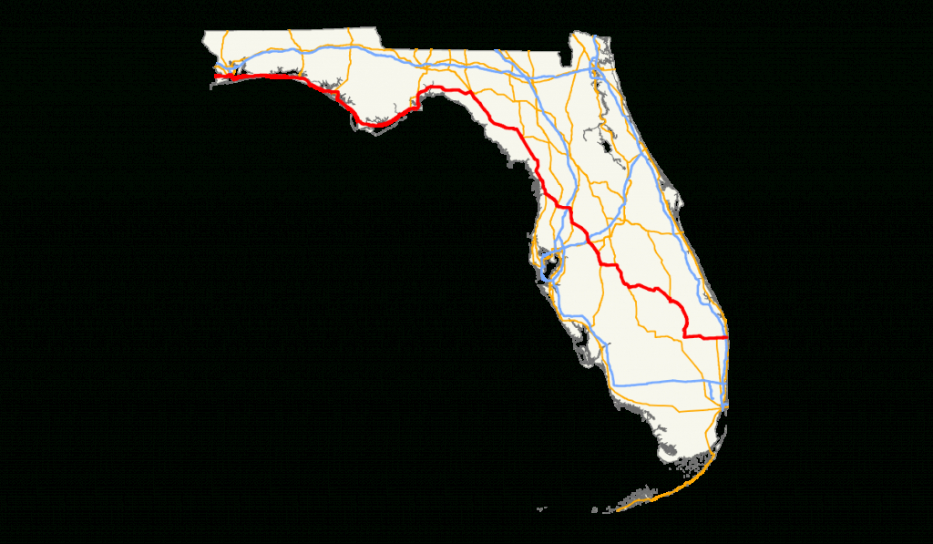 U.s. Route 98 In Florida - Wikipedia - Shell Point Florida Map