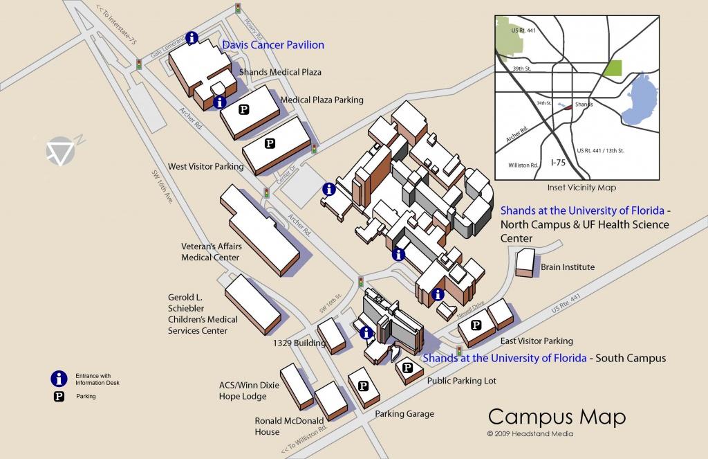 Uf Campus Map 9 - Squarectomy - Uf Campus Map Printable