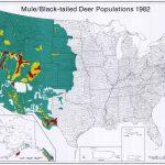 Uga : Scwds   Historic Wildlife Range Maps   Mule Deer Population Map Texas
