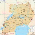 Uganda Map, Map Of Uganda   Printable Map Of Uganda