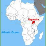 Uganda Maps | Maps Of Uganda   Printable Map Of Uganda