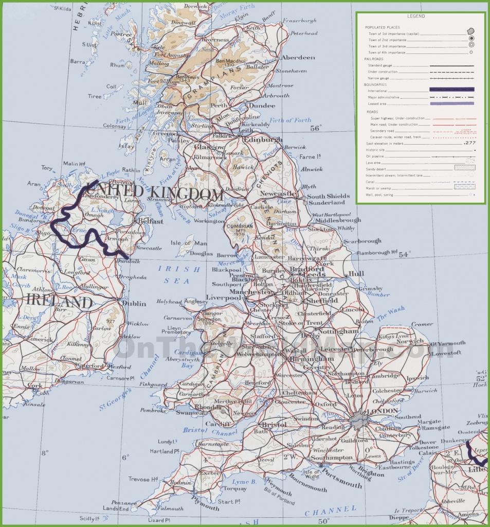 Uk Maps   Maps Of United Kingdom - Uk Map Printable Free