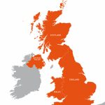 Uk Outline Map   Royalty Free Editable Vector Map   Maproom   Free Printable Map Of Uk And Ireland