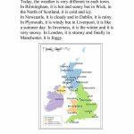 Uk Weather Report Worksheet   Free Esl Printable Worksheets Made   Free Printable Weather Map Worksheets