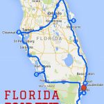 Uncover The Perfect Florida Road Trip | Florida | Road Trip Map   Map Of Florida Vacation Spots