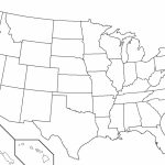 United States Black And White Outline Map Fresh Blank Usa View Of 13   Printable Blank Map Of The United States