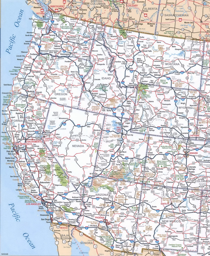 United States Freeway Map   Sitedesignco - Free Printable Road Maps Of The United States