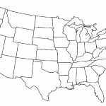 United States Map Coloring Page Printable Save Printable Blank Us   United States Color Map Printable