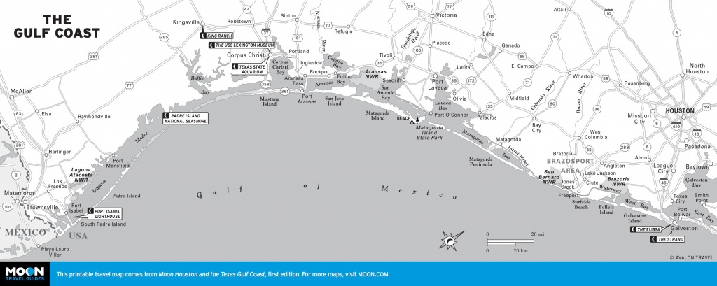 United States Map - Maps Website Reference - Texas Gulf Coast Beaches Map