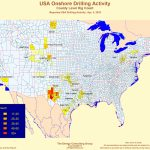 United States Oil And Gas Drilling Activity   Map Of Drilling Rigs In Texas