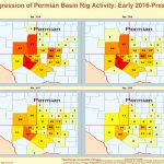 United States Oil And Gas Drilling Activity   Texas Rig Count Map