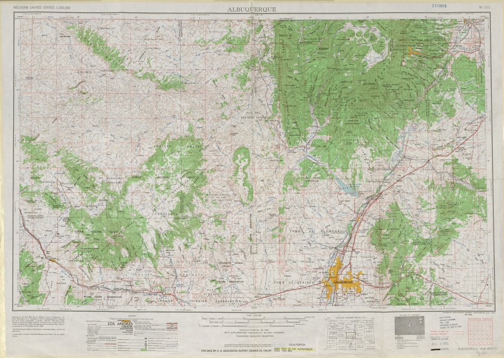 United States Topographic Maps 1:250,000 - Perry-Castañeda Map - Printable Usgs Maps