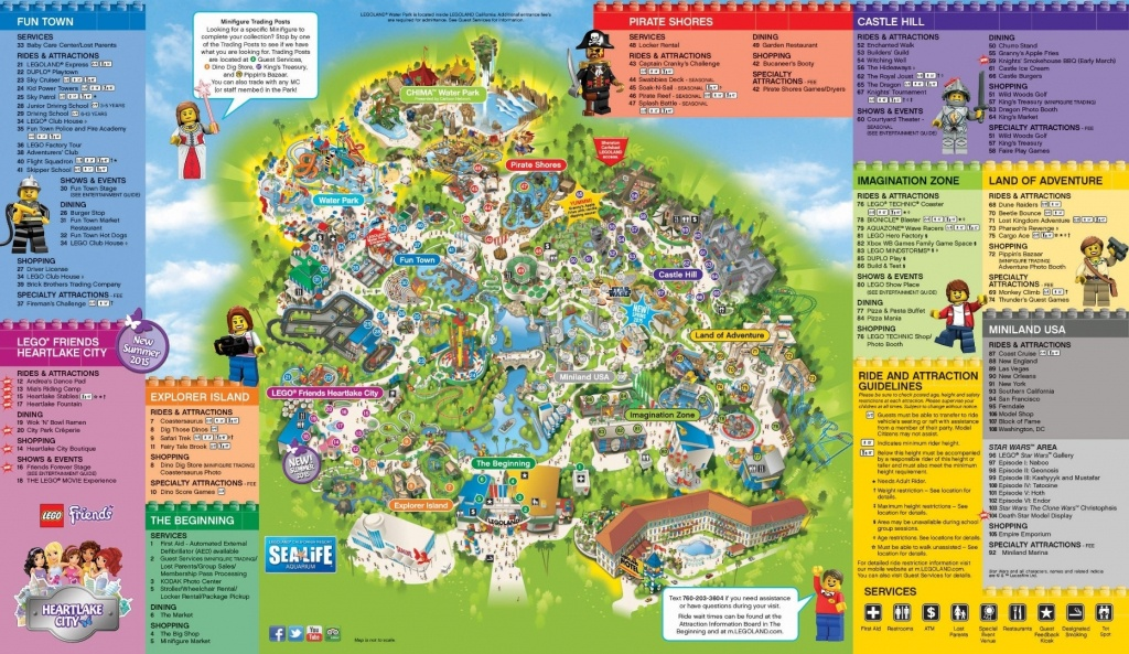 Universal Studios California Park Map Inspirational Legoland With - Universal Studios Map California 2018