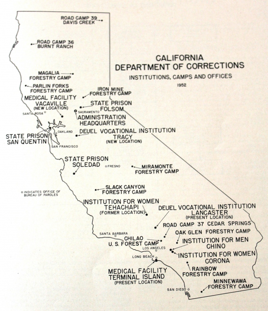 Unlocking History: California Men's Colony Was Once Wwii Military - California Prison Locations Map