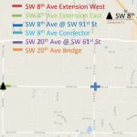 Untold Florida: Why Isn't Sw 8Th Avenue Near Tioga Open Yet? – Wuft News - Where Is Gainesville Florida On The Map