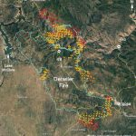 Updated Map Of Detwiler Fire Near Mariposa, Ca   Wednesday Afternoon   California Fires Update Map