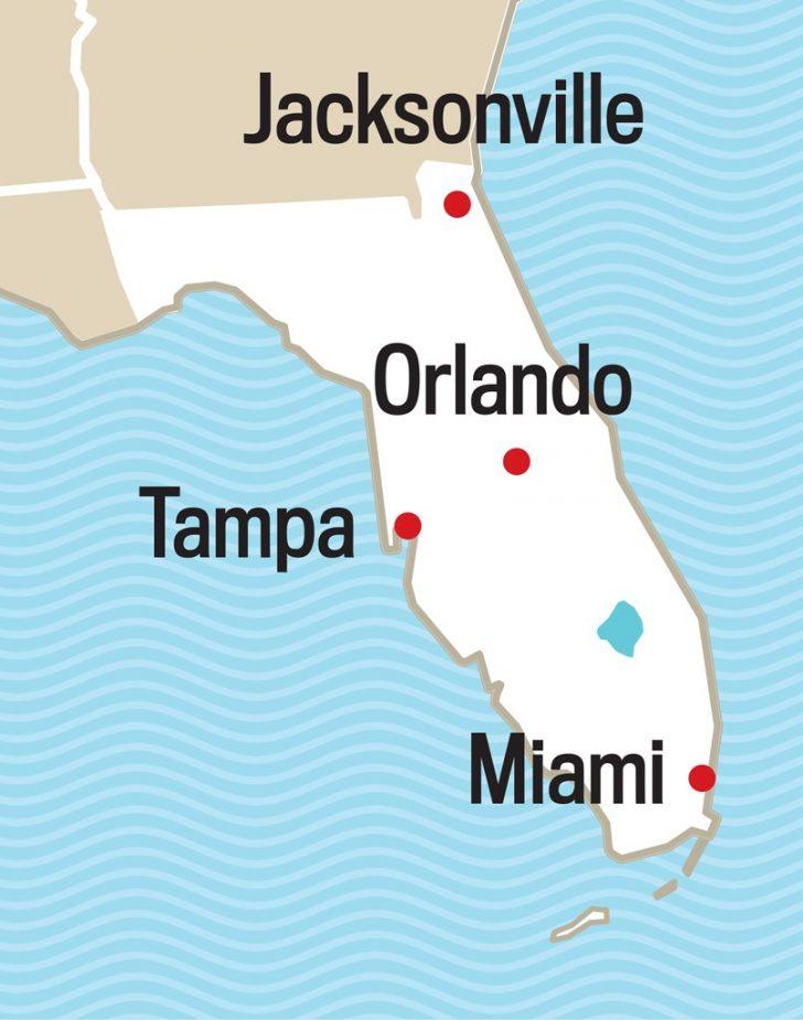 Deland Florida Map