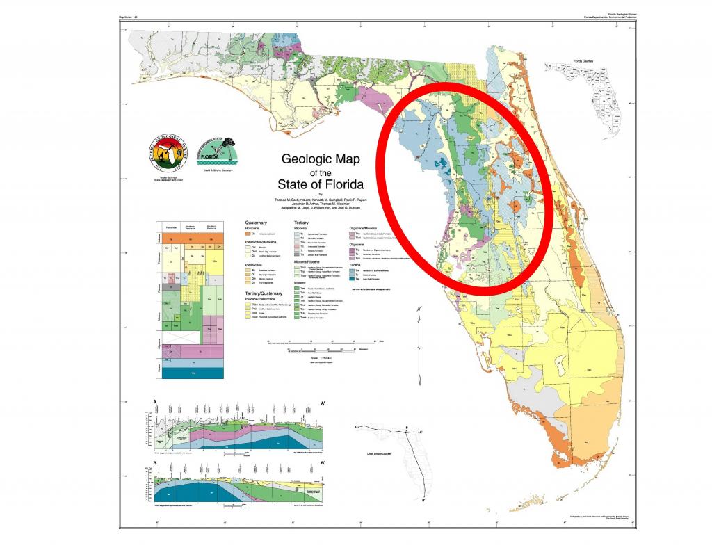 Us Geological Sinkhole Map Us Unique United States Map Sinkholes - Florida Sinkhole Map 2018