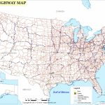 Us Highway Map | Images In 2019 | Highway Map, Interstate Highway - Printable Us Map With Interstate Highways