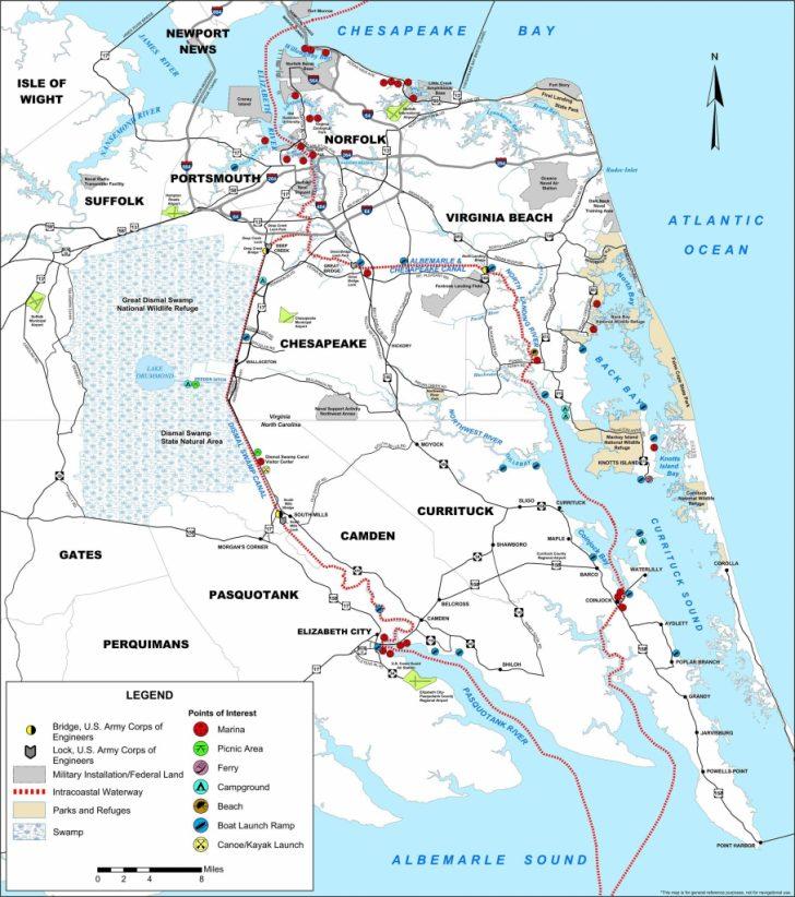 Intracoastal Waterway Florida Map