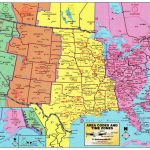 Us Map According To Timezone New Printable United States Map With   Printable Map Of Us Time Zones With State Names
