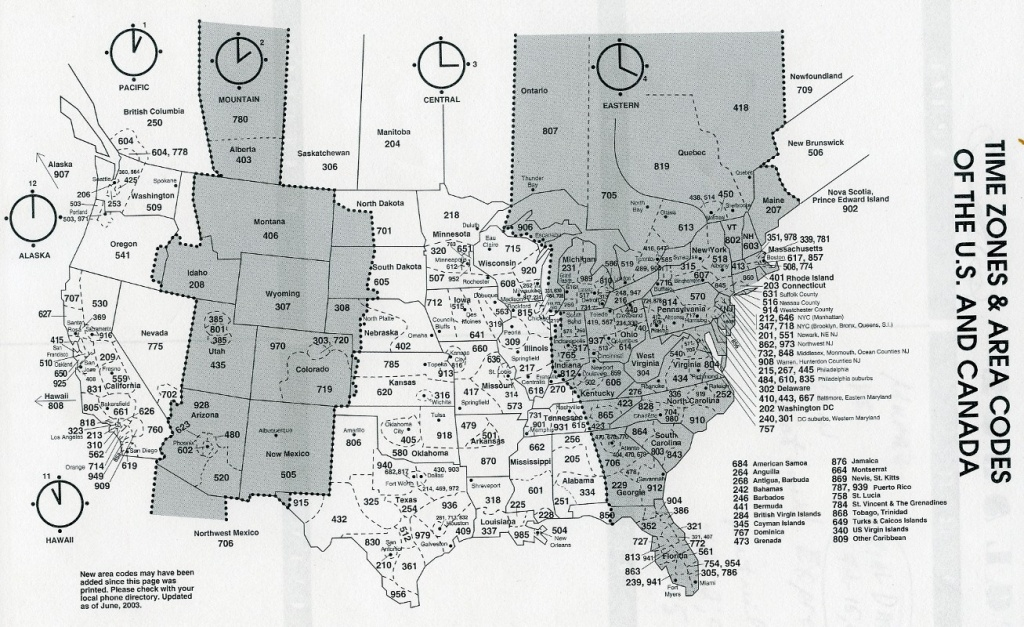 Us Map - Printable Time Zone Map For Kids