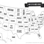 Us Map The South Printable Usa Map Print New Printable Blank Us   United States Map Of States Printable