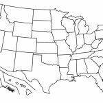 Us Map The South Printable Usa Map Print New Us Map States Blank   United States Map Of States Printable