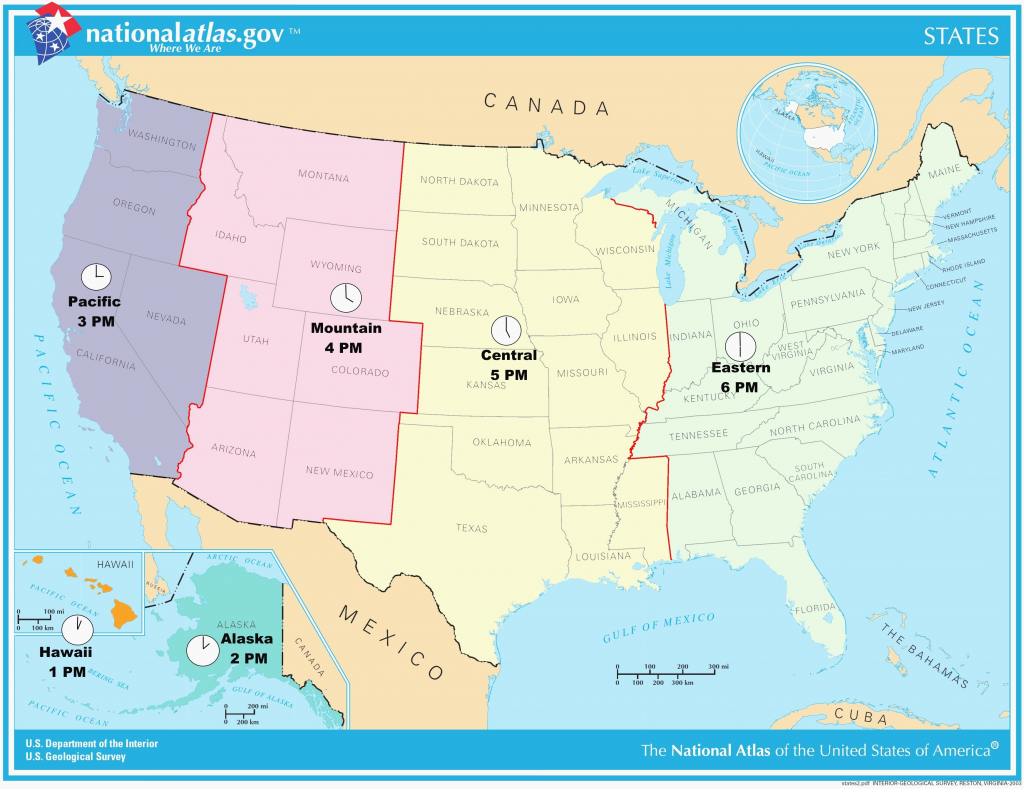 Us Map With Alaska And Hawaii Pix Usmap1 Best Of Best Printable - Printable Us Time Zone Map With State Names
