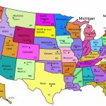 Us Maps With State Capitals Us Map And This Is A Of The United States - State Capital Map Printable