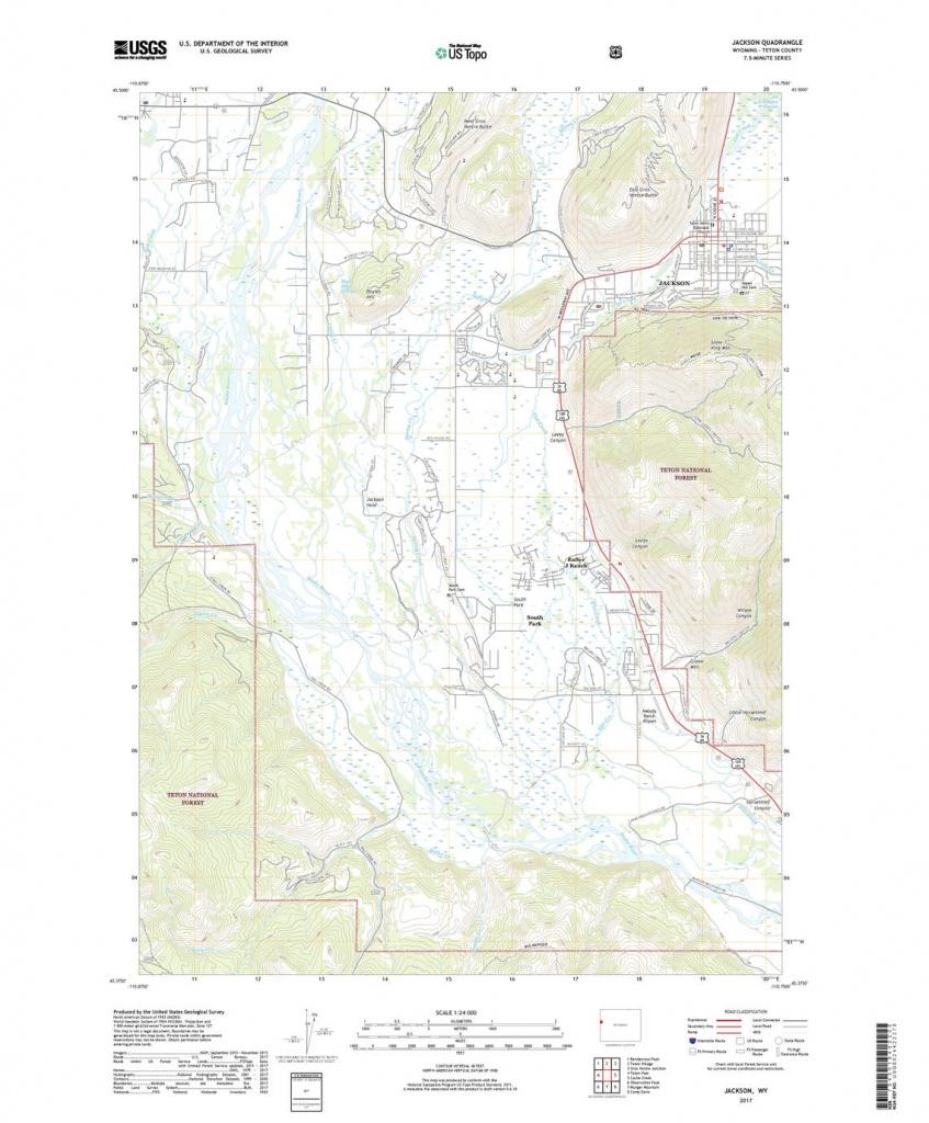 Us Topo: Maps For America - Jackson County Texas Gis Map