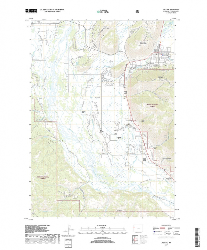 Us Topo: Maps For America - Topographic Map Printable