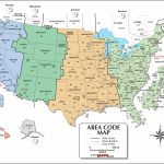 Usa Area Code And Time Zone Wall Map - Maps - Printable Time Zone Map For Kids