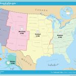 Usa Full Size Map   Hepsimaharet   Printable Time Zone Map With States