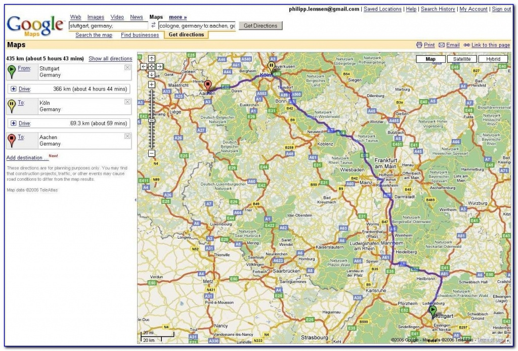 Usa Map Driving Directions Google Maps Driving Directions Free - Printable Driving Directions Map