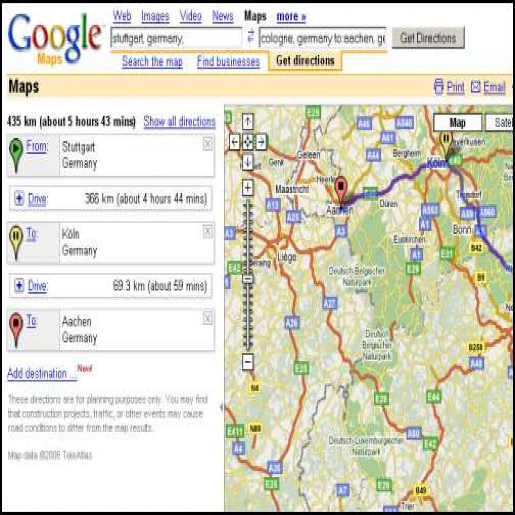 Usa Map Google Free Printable Driving Directions Maps Bright Random - Free Printable Maps Driving Directions