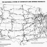 Usa Map Interstate Highways | Sitedesignco - Printable Us Map With Interstate Highways