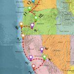 Usa West Coast Road Trip Guide (July 2019)   California Oregon Washington Road Map